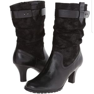 Aerosoles A2 | Black Sleep Tight Western Bootie